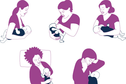 5 Breastfeeding Holds to Try