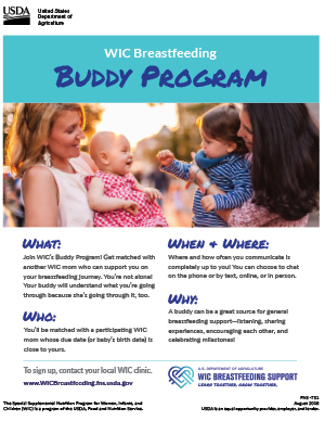 Buddy Program Flyer PDF Thumbnail